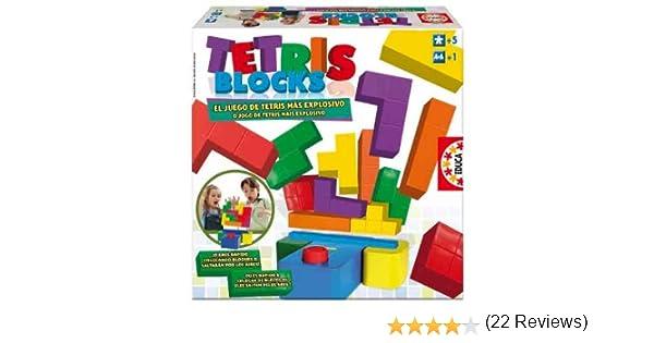 Educa Borrás- Tetris Blocks Juego de Mesa, Color Variado, 5+ (14679): Amazon.es: Juguetes y juegos