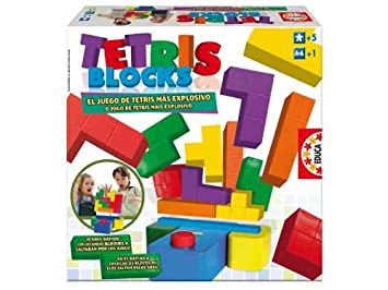 Educa Borras 14679 Tetris Blocks Amazon Es Juguetes Y Juegos