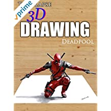 Clip: Time Lapse 3d Drawing: Deadpool