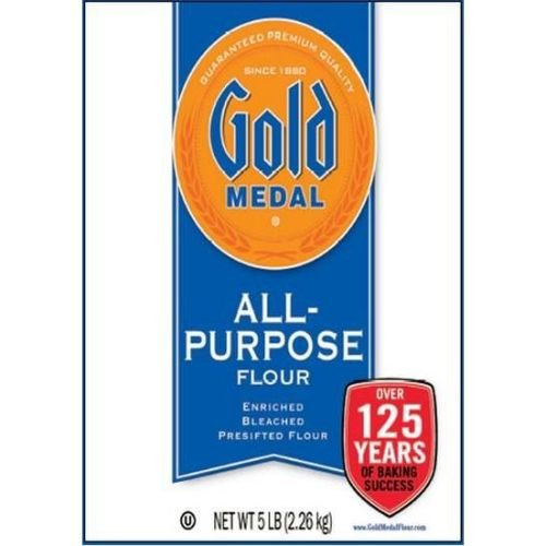 Gold Medal All Purpose Flour, 80-Ounce (Pack of 8)