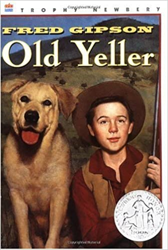Old Yeller (text only) Newbery Honor Book edition by F. Gipson: F. Gipson:  Amazon.com: Books