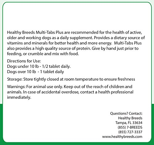 Pictures of Healthy Breeds Dog One A Day Supplement Pug, Brown 5