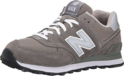 New Balance Men's ML574 Lifestyle Sneaker,Grey/Silver,11.5 D