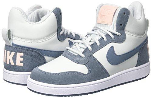 sunset Mid pure Da Ginnastica Tint Scarpe Prem Platinum Donna Blue W armory Bianco Court Borough Nike white qZvtY