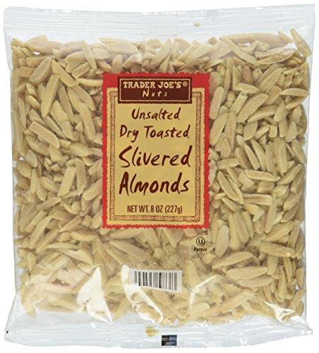 Trader Joe's Unsalted, Dry Toasted Slivered Almonds ()
