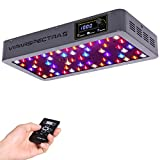 VIPARSPECTRA Timer Control Series VT300 300W LED Grow Light - Dimmable VEG/BLOOM Channels 12-Band Full Spectrum for Indoor Plants