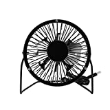 Mini Handheld Fan, Personal Portable Desk Stroller Outdoor Solar Panel Table Fan with USB Rechargeable Battery Operated Cooling Folding Electric Fan for Office Room Household Traveling Black