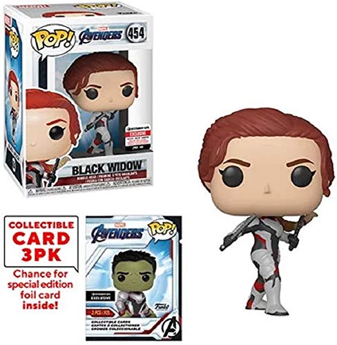 Avengers: Endgame Black Widow Pop! Vinyl Figure with Collector Cards - Entertainment Earth Exclusive (Best Mission Impossible Remix)