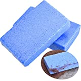 pill remover stone - BBTO 2 Pack Sweater Stone Clothing Care Sweaters Lint Pilling Remover for Sweaters, Household Cleaning, Blue