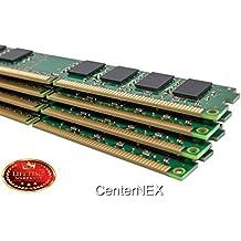 CenterNEX® 4GB Memory KIT (4 x 1GB) For Asus PTG Series PTGD2-LA (Grouper) PTGD2-LA (Piranha) PTGD2-VX PTGV-LM (Non-ECC). DIMM DDR2 NON-ECC PC2-4200 533MHz RAM Mem