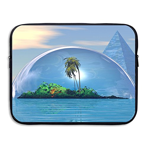 Business Briefcase Laptop Sleeve Beach Pyramid Case Cover Ha