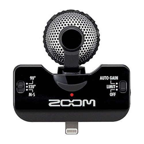 Zoom iQ5 Mid Side Stereo Microphone product image