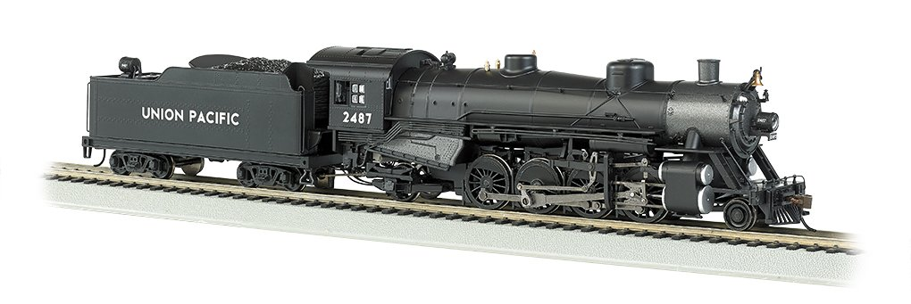 Bachmann Industries Trains Usra Light 2-8-2 Dcc Sound Value Equipped Union Pacific 2487 Steam Locomotive Bachmann Industries Inc. 54301