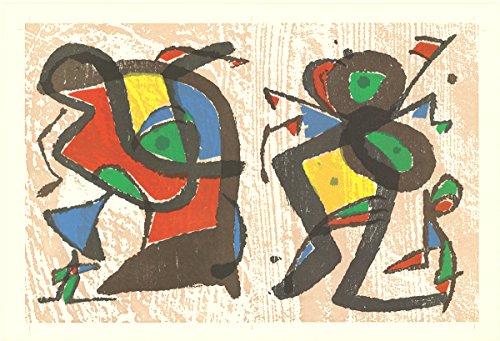 Joan Miro-From Ceramics-Mixed Media - Joan Miro Ceramics