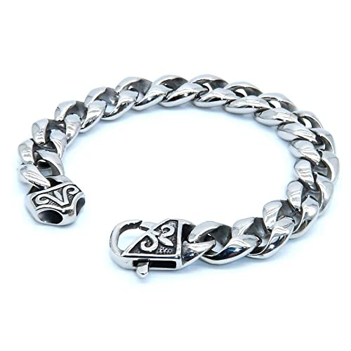 Amazon.com: YX Jewelry - Pulsera para hombre de acero ...