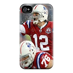 Premium New England Patriots Back Covers Snap On Cases For Iphone 4/4s
