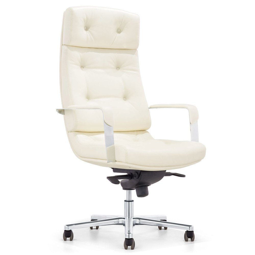 Genuine Leather High Back Office Chair