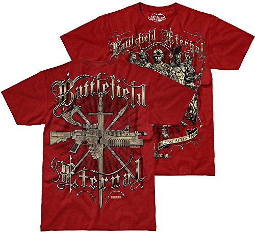 de Camiseta de dise Battlefield 62 o Eternal hombre Scarlet 7 wFqZEn