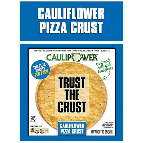 CAULIPOWER Cauliflower Pizza Crust, 10' 4/6 CT