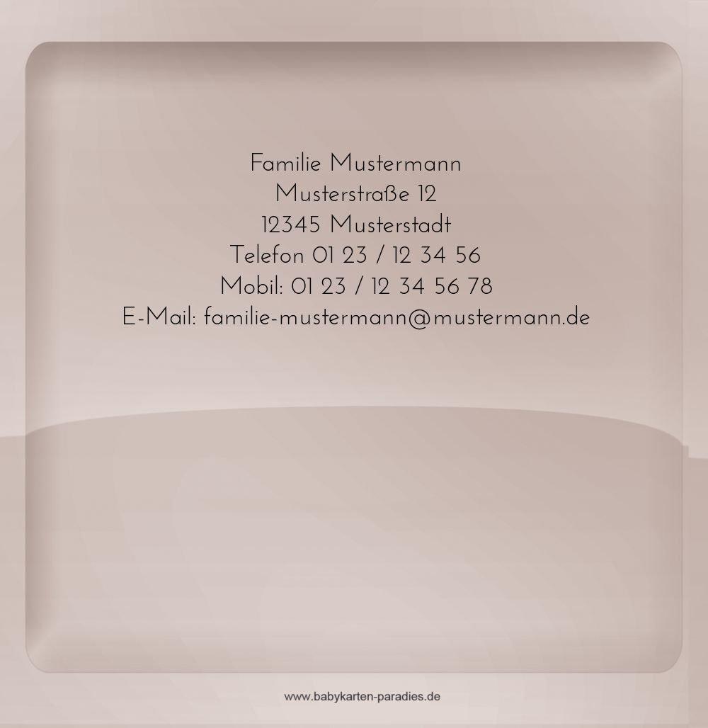 Kartenparadies Dankeskarte Taufe Taufe Dankeskarte Spiegelung, Spiegelung, Spiegelung, hochwertige Danksagung für Taufgeschenke inklusive Umschläge   10 Karten - (Format  145x145 mm) Farbe  BeigeOrange B01N9XI5WO | Hohe Qualität  | Hochwertig  | Schön In Der Farbe  031004