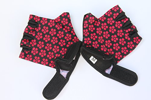 HANG Monkey Bars Gloves (7 and 8 Years Girls) with Grips Control