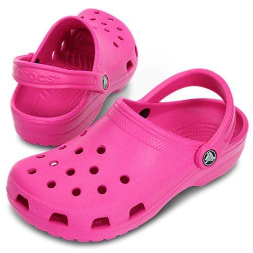 crocs - Zuecos de CrosliteTM para mujer Rosa - Neon Magenta