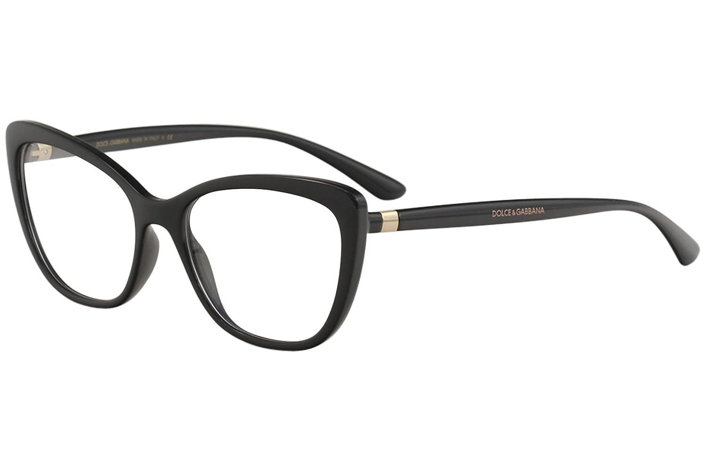 1460d4b3e Dolce & Gabbana Dg 5039 - Óculos De Grau 501 Preto Brilho: Amazon.com.br:  Amazon Moda