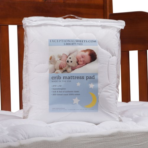 toddler crib size mattress pad perfect for small child. Black Bedroom Furniture Sets. Home Design Ideas