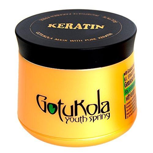 Gotukola Keratin Restorative Hair Mask 500ml 16.9fl.oz by Gotukola