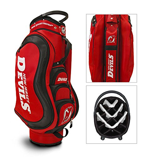 Nj Devils Top (NHL New Jersey Devils Medalist Golf Cart Bag)