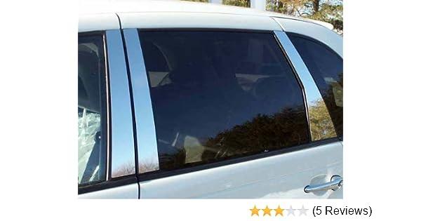PP39761 QAA fits 1999-2004 Chrysler 300M 6 Piece Stainless Pillar Post Trim