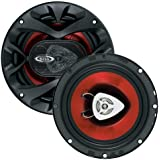 BOSS Audio CH6520 250 Watt (Per Pair), 6.5 Inch, Full Range, 2 Way Car Speakers (Sold in Pairs)