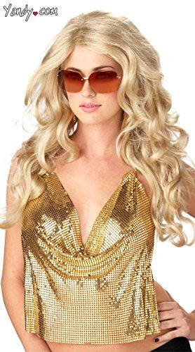 Blonde Super Model Wig (Blonde Super Model Wig Costume Accessory)