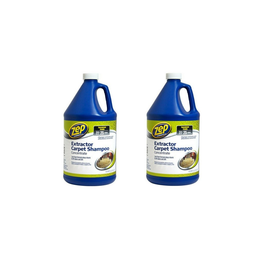 Zep Commercial Zep Extractor Carpet Shampoo, 128 oz (2 Pack) by Zep (Image #1)