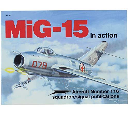 MiG-15 in action - Aircraft No. 116