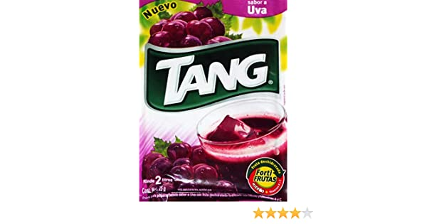 Amazon.com : 3 X Tang Uva Flavor No Sugar Needed Makes 2 Liters of Drink 15g From Mexico : Powdered Soft Drink Mixes : Grocery & Gourmet Food
