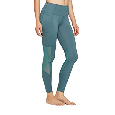 979c05fad2a07 JoyLab Women's Comfort High-Waisted 7/8 Leggings with Mesh Panel and Side  Pockets