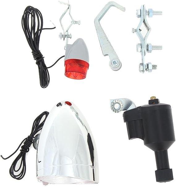 Starnearby Luces de la Bicicleta Kit del Sistema de Seguridad Kit ...