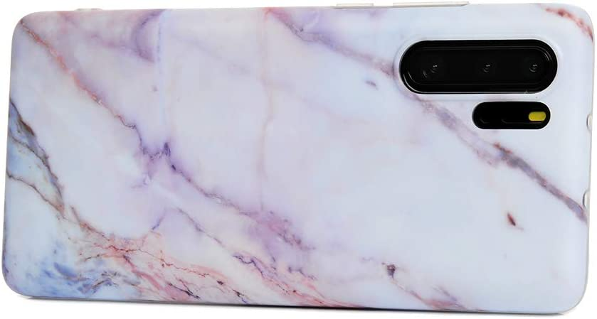 VoguSaNa Kompatible f/ür Handyh/ülle Huawei P30 Pro H/ülle Case Cover Silikon Matt Marmor Muster Weiche Tasche Herren Damen Marble Schutzh/ülle D/ünn Handytasche Skin Soft Case Schale Bumper TPU*3 Etui-12