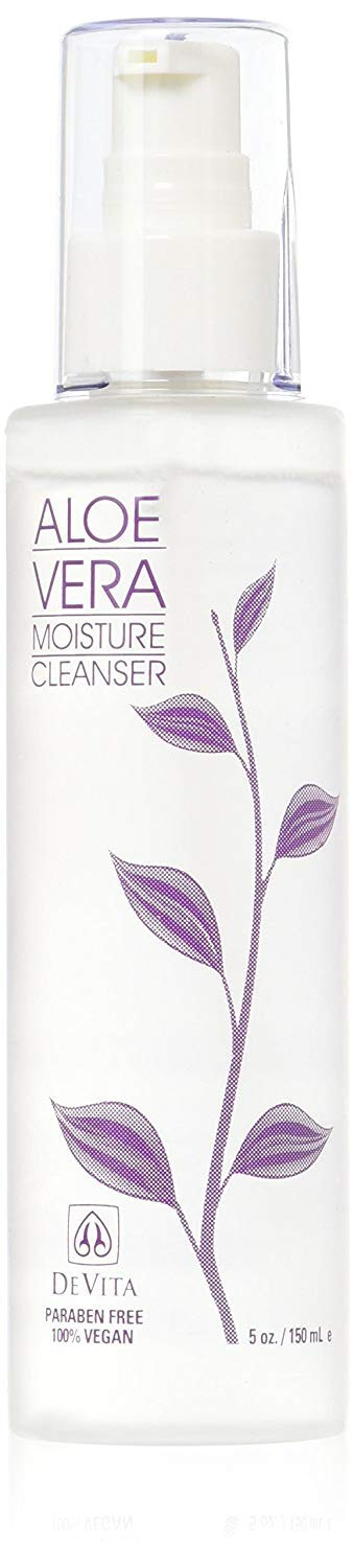 Devita Natural Skin Care Aloe Vera Moisture Cleanser-5oz
