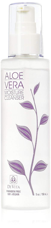 Devita Natural Skin Care Aloe Vera Moisture Cleanser-5oz
