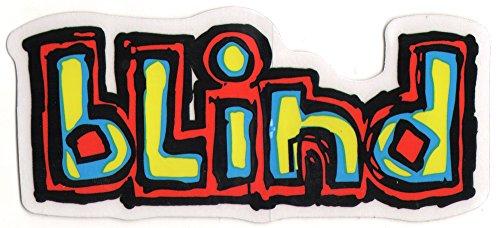 Blind Logo Skateboard Sticker - 11.5cm wide approx. skate snow surf board bmx skateboarding video days
