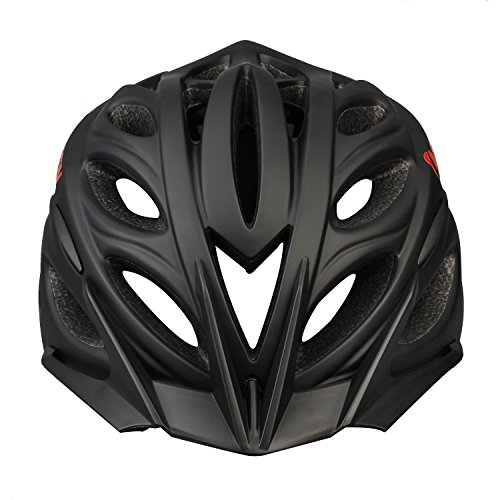 E ESSEN Adult Mountain Bike Helmet with Lid Adjustable for BMX, MTB, Bicycle and Racing