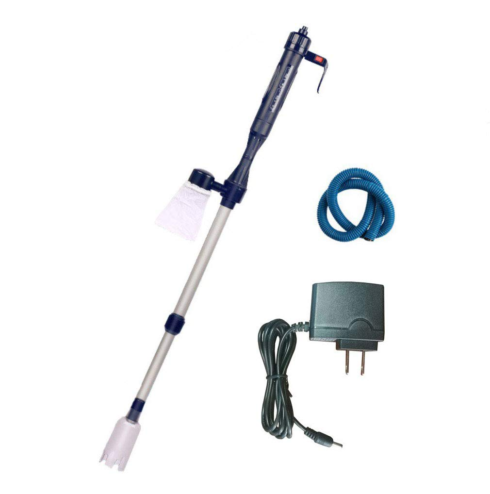 YueYueZou® Electric Gravel Cleaner, Automatic Water Changer for Aquarium/Fish Tank by YueYueZou®