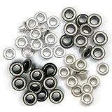 Eyelets Standard 60/Pkg-Cool Metal