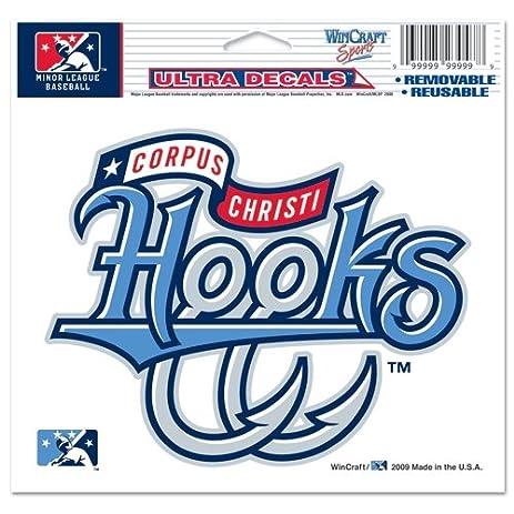 Corpus christi hooks official logo 4x6 ultra decal