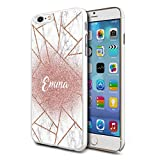 Personalised Marble Hard Phone Case Cover For Apple Samsung & Various Models (Design D03) For Apple iPhone 5/5s
