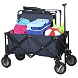 Campart Travel HC-0910 Foldable Garden Cart – Capacity 70 kilogram – Blue