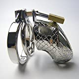 STEPHANIIE 85MM long cage male chastity steel chastity cage chastity ring stainless steel chastity belt mens chastity belt