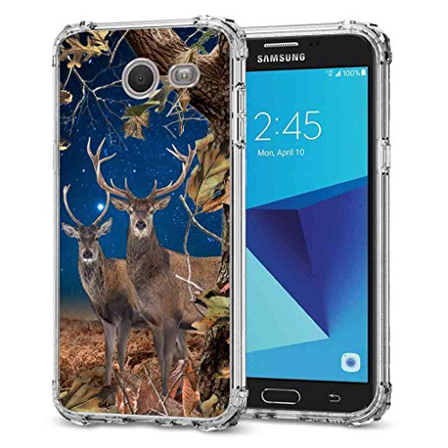 Galaxy J3 Emerge Camo Case, BAYKE TPU Bumper Protective, used for sale  Delivered anywhere in USA